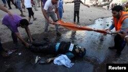 مرگ یک روزنامهنگار در منطقه شجاعیه در روز چهارشنبه در نوار غزه