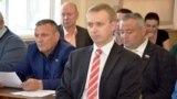 Первый заместитель главы российской администрации Евпатории Кирилл Вавренюк (в центре)