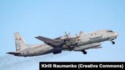 Российский самолет-разведчик Ил-20