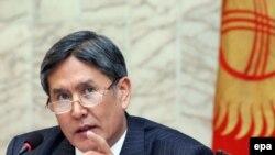 Уюактылуу өкмөт башчынын биринчи орун басары Алмазбек Атамбаев
