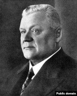 Президент Латвии (1936 - 1940) Карлис Улманис
