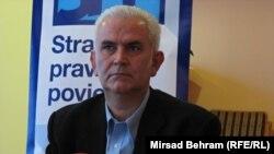 Živko Budimir na konferenciji za novinare u Mostaru, 14. decembar 2013.