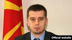 Zëdhënësi i Ministrisë së Brendshme të Maqedonisë, Ivo Kotevski.