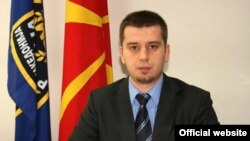 Иво Котевски, помошник министер за внатрешни работи. Портпарол на МВР.