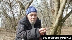 Магілёўскі бадзяга Юры Іванавіч Барадулін (архіўнае фота)
