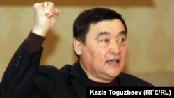 """Рамазан Есергепов, директор прессозащитной организации """"Адил соз"""". Алматы, 13 марта 2012 года."""