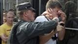 Владимир Бойка на митинге оппозиции