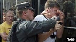 Тот самый митинг оппозиции 31 июля 2010 года, после которого Вадима Бойко судили