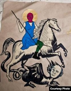 "Лидия Цехмистренко, ""Икона Pussy Riot"""