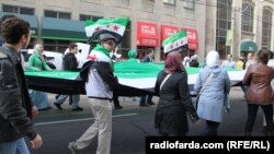 تظاهرات مخالفان بشار اسد در کانادا، عکس تزئینی است
