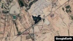 تصویر ماهوارهای از شهرک چمران (جراحی) در شمال ماهشهر