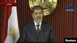Миср Президенти Муҳаммад Мурсий.