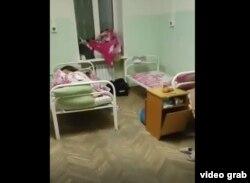 В палате ковид-госпиталя в Дальнегорске