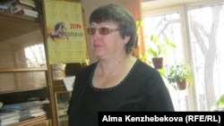 Алматы қаласы тұрғын үй және тұрғын үй инспекциясы басқармасының бөлімінің бастығы Елена Гаврина.