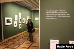 ورودی نمایشگاه آثار مارتین فرانک
