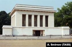 The mausoleum of Giorgi Dimitrov in Sofia, which was demolished in 1999