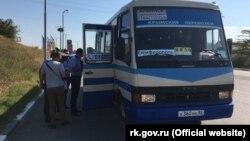 Автобусные перевозки в Крыму. Архивное фото