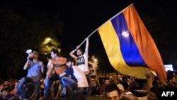 На улицах Еревана 23 июня 2015 года