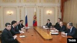 سفر رييس جمهوری گرجستان به روسيه در مرکز توجه محافل سياسی قرار دارد.(عکس ايتار تاس)