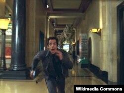 """Ben Stiller """"Muzeydə gecə"""" filmində, 2006-cı il."""