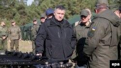 Украинанын ички иштер министри Арсен Аваков