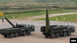 The exercises featured the deployment of Iskander missiles and preparations for firing them, but didn't involve actual launches, the military said.