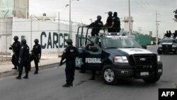 Илустрација - Припадници на мексиканската полиција