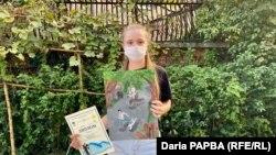 15-летняя Злата Богненко заняла первое место в конкурсе детского рисунка «Грушевый компот»