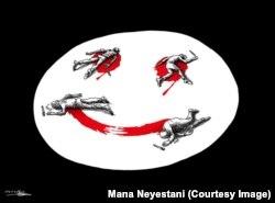 Малюнак Маны Неестані з Ірану