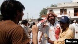 Пакистан -- Пешавардагы жардыруудан кийин, 22-сентябрь, 2013-жыл