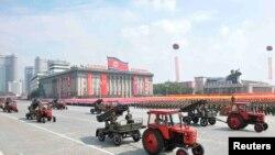 Pamje nga kryeqyteti Phenian i Koresë Veriore