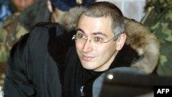 Находящийся в заключении бывший глава компании ЮКОС Михаил Ходорковский.