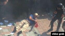Поранений внаслідок сутичок біля Верховної Ради, 31 серпня 2015 року