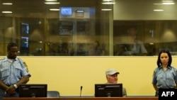 Ratko Mladić u Haškoj sudnici, jul 2011.