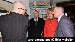 Светлана Гевчук и Владимир Константинов (справа)