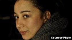 """Радмила Ванковска, aктивист во студентското движење """"Слободен Индекс""""."""