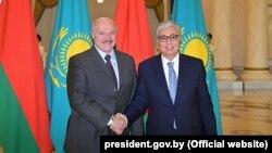 Belarus -- Visit of Alexander Lukashenko to Kazakhstan on May -- 29mai2019
