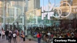 Линкольн-Центр Ами Тулис Холл, где проходят показы 50-го Нью-йоркского кинофестиваля