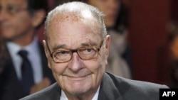 Францияның экс-президенті Жак Ширак.