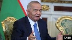 Özbegistanyň prezidenti Yslam Karimow.