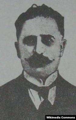 Sultan Məcid Qənizadənin həyatı boyu dostluq etdiyi maarifçi və müəllim Həbib bəy Mahmudbəyov.