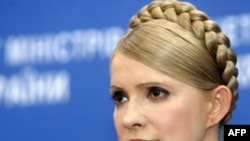 Tymoshenko took advantage of her rival's absence in her TV appearance.