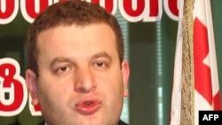 Interior Ministry spokesman Shota Utiashvili