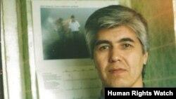 Узбекский журналист в заключении Мухаммад Бекжан.