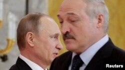 Ռուսաստանի և Բելառուսի նախագահներ Վլադիմիր Պուտինն ու Ալեքսանդր Լուկաշենկոն, արխիվ