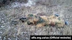 Бійці Центру спеціальним операцій «A»у зоні бойових дій на Донбасі