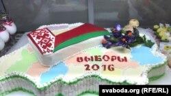 Aleksandr Lukaşenkonyň ses berýän saýlaw uçastogy, Minsk, 11-nji sentýabr, 2016