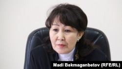 Судья Бағдагүл Биахметова. Астана, 19 қазан 2016 жыл.