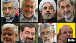 Iran -- Iran qualifies 8 candidates for presidential election, 21May2013, photos undated