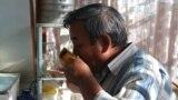 Kyrgyzstan -- Osh, dirty water, 09Oct2015